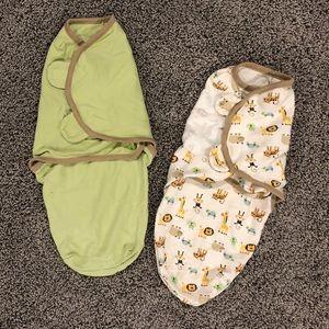 2 Summer Infant Sleep Sacks Small/Medium